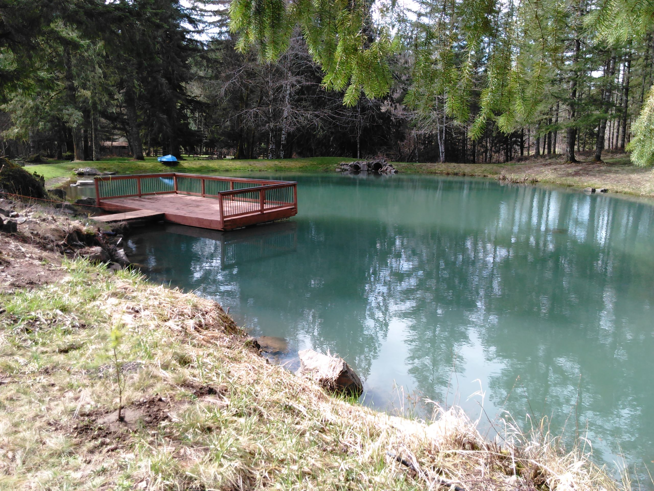 Turquoise Pond at Vernonia Springs