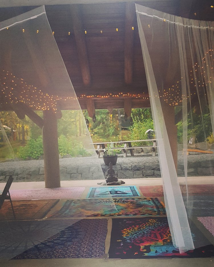 yoga retreats at Vernonia Springs