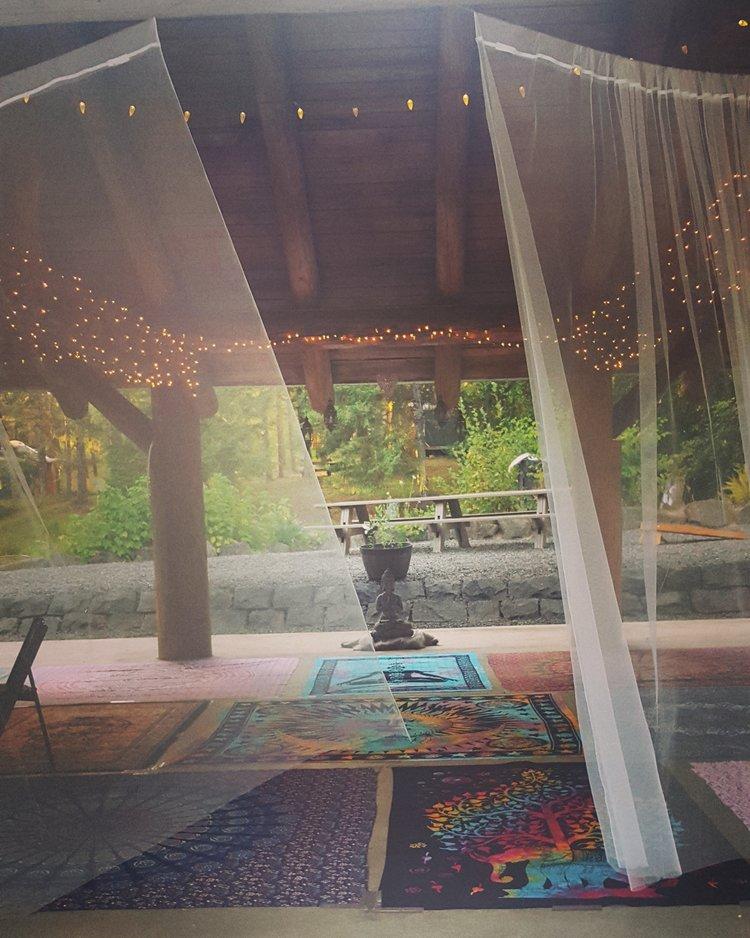 yoga retreats at Vernonia Springs