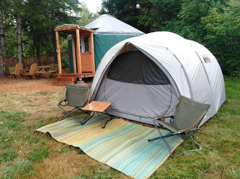 Ladie's Group Camping