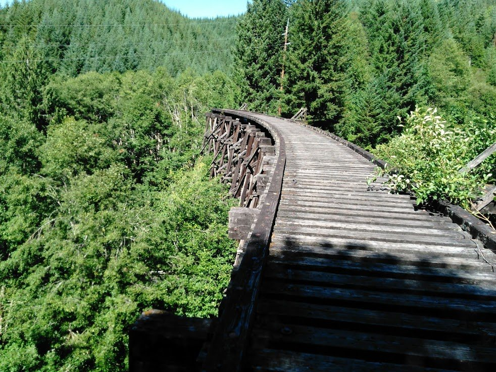tophill trestle near Vernonia Springs