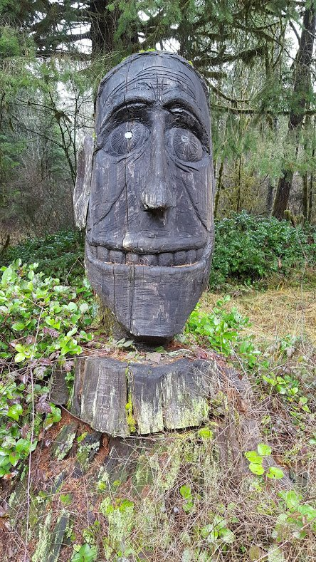 Vernonia Man at Vernonia Springs