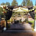 Wedding Stage at Vernonia Springs