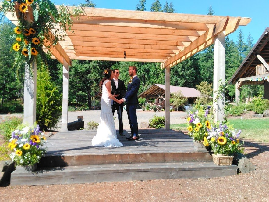 outdoor wedding and reception venues
