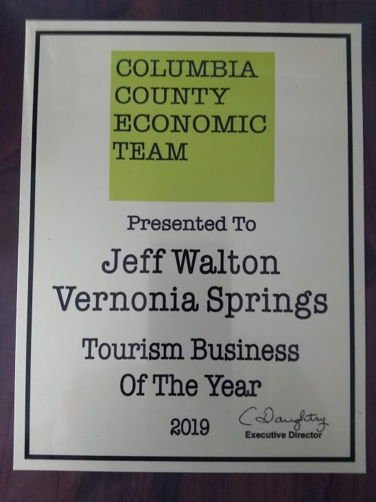 Tourism Award Plaque