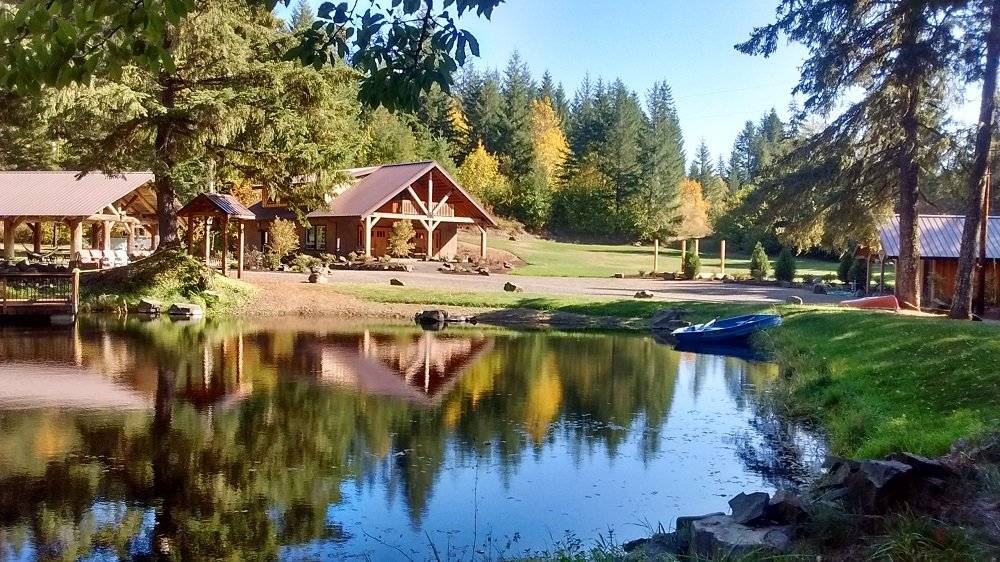 Pond at Vernonia Springs