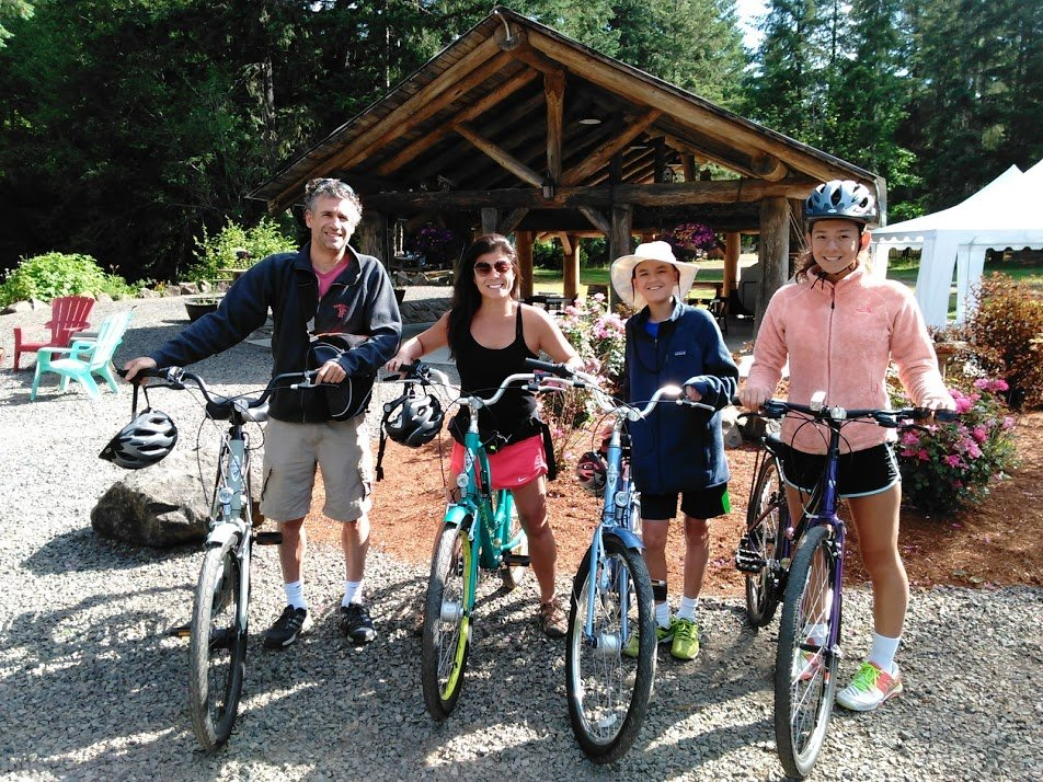 Bike Rentals at Vernonia Springs