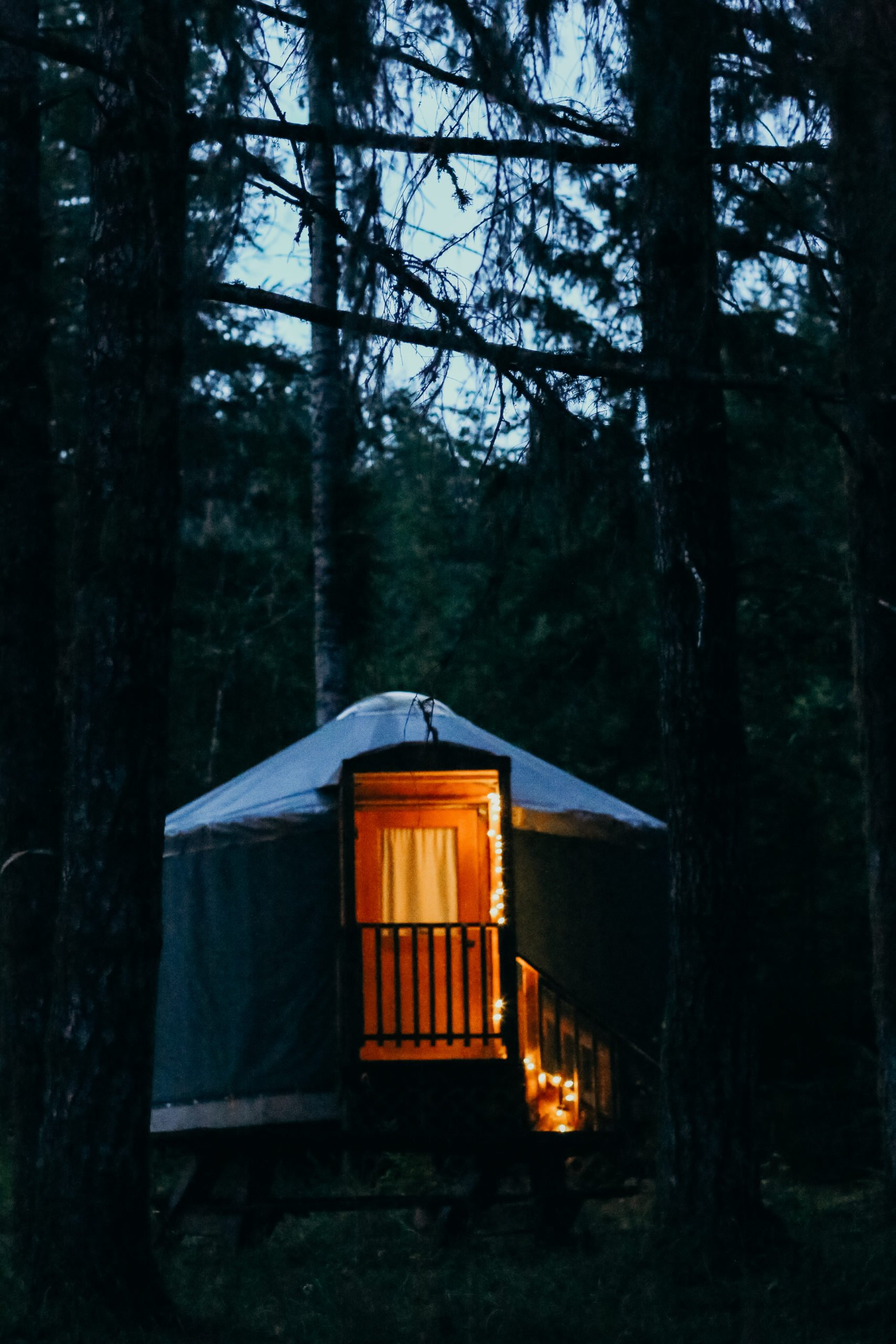 glamping at Vernonia Springs
