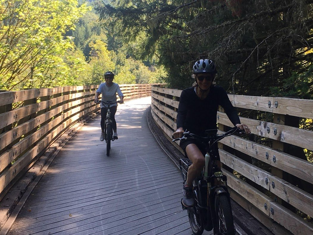 Buxton Bridge on Banks Vernonia State Trail