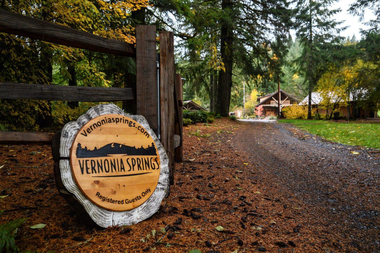 Vernonia Springs Sign