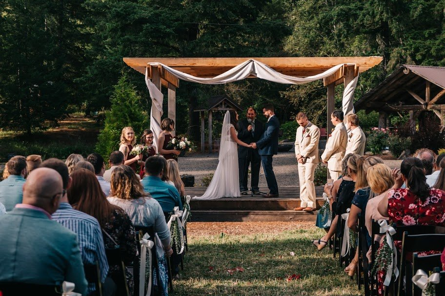 Outdoor wedding locations