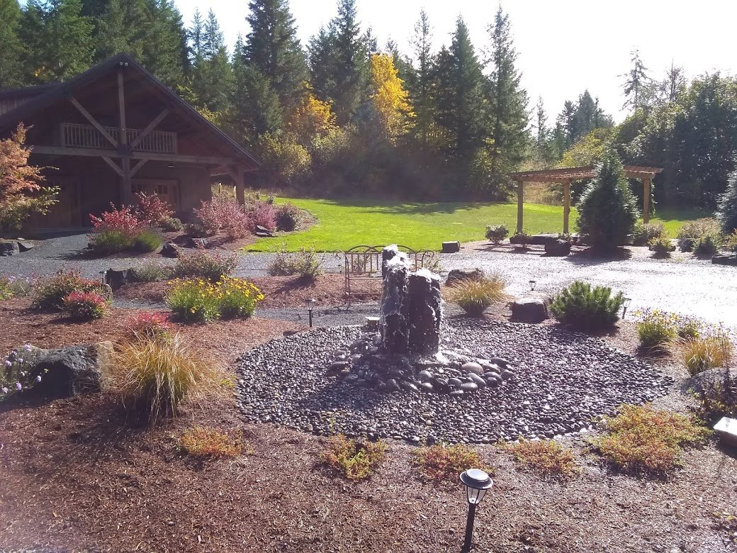 Fountain at Vernonia Springs